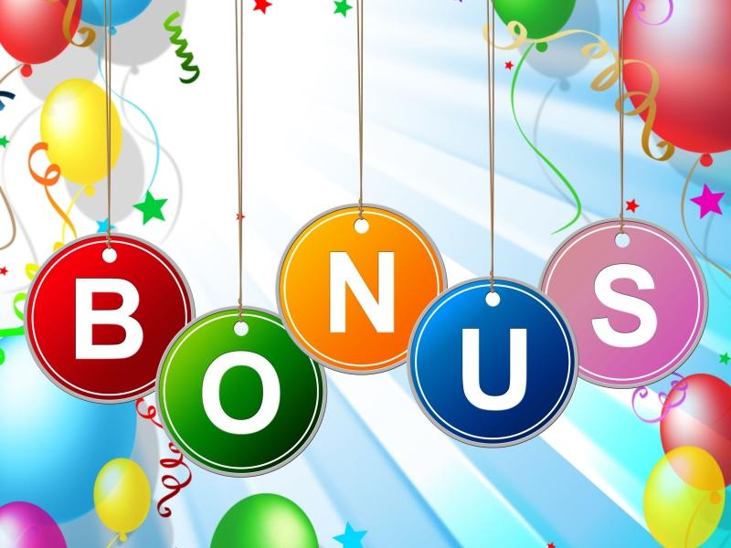 9888117-bonus-reward-means-for-free-and-award
